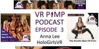 VR Pimp Podcast 3 Anna Lee HoloGirlsVR