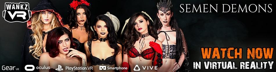 WankzVR Semen Demons Best VR Porn Video October 2017