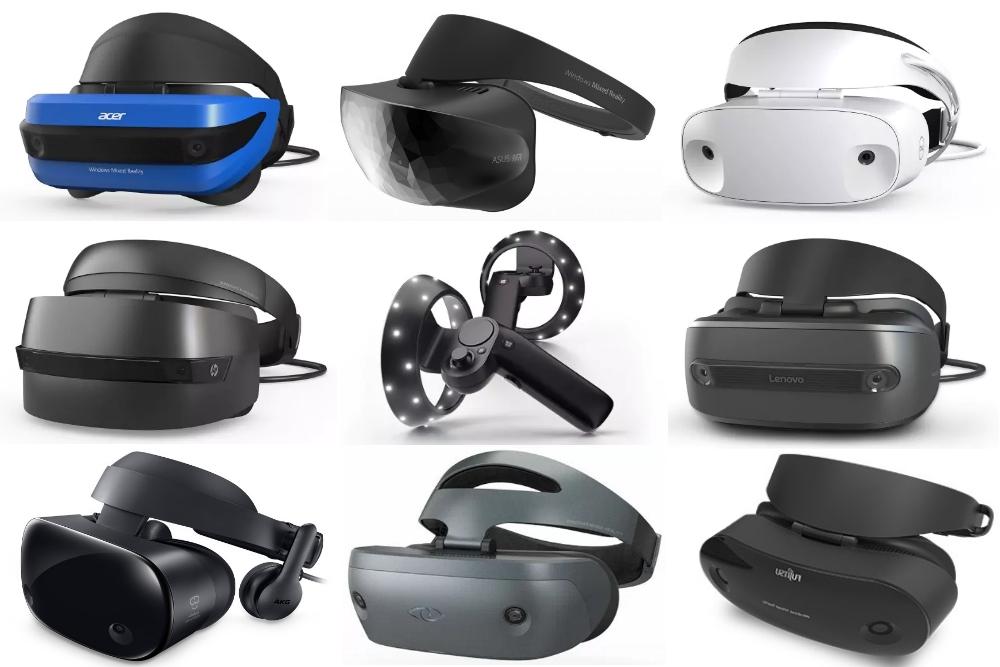 Windows Mixed Reality Headsets