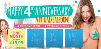 VirtualRealPorn Celebrates 4 Years