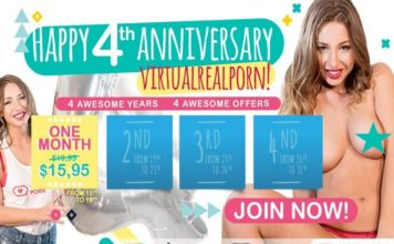 VirtualRealPorn Celebrates 4 Years