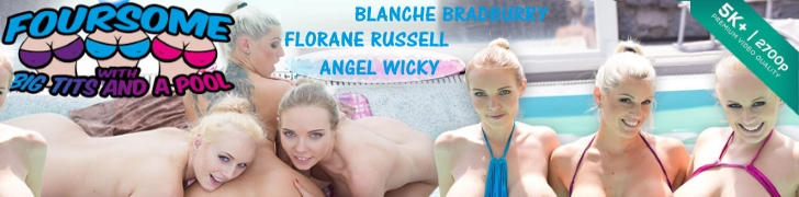 Angel Wicky Foursome With Big Tits Czech VR Porn