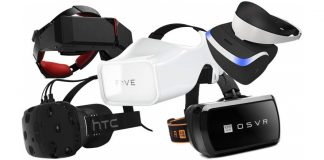 VR Headsets or HMD