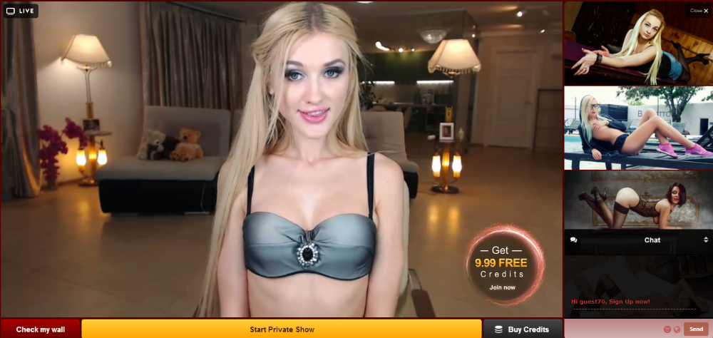 Sex live video free similar situation
