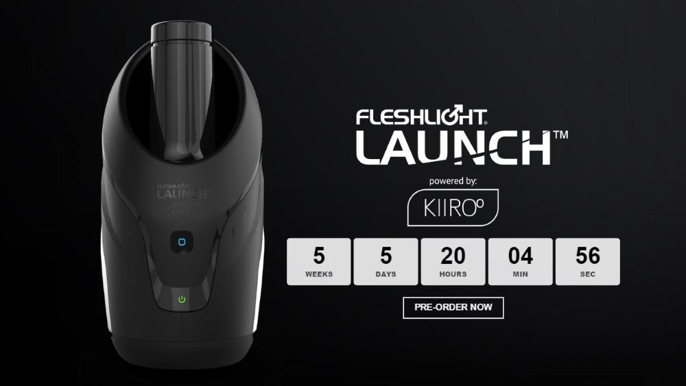The Fleshlight Launch Powered By Kiiroo Vr Pimp Virtual