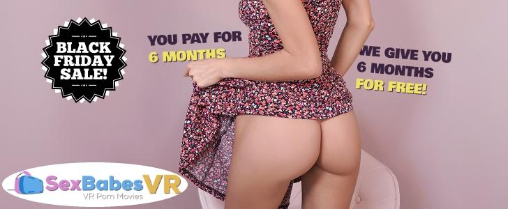 Black Friday & Cyber Monday VR Porn Deals SexBabesVR
