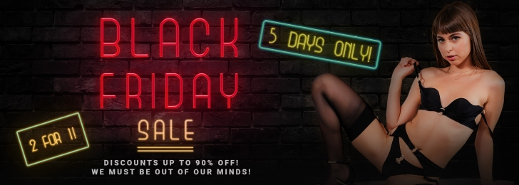 Black Friday & Cyber Monday VR Porn Deals