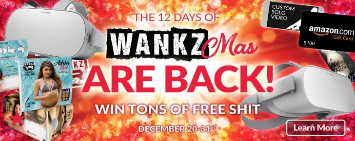 12 Days of Wankzmas VR Porn Promos