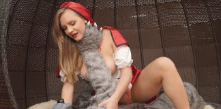 Furry VR Porn Video - Big Bad Wolf Meets Little Red Riding Hood Cosplay