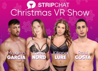 Xmas VR Cam Show On Stripchat