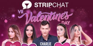 Valentine's Day Live VR Cam Show Stripchat