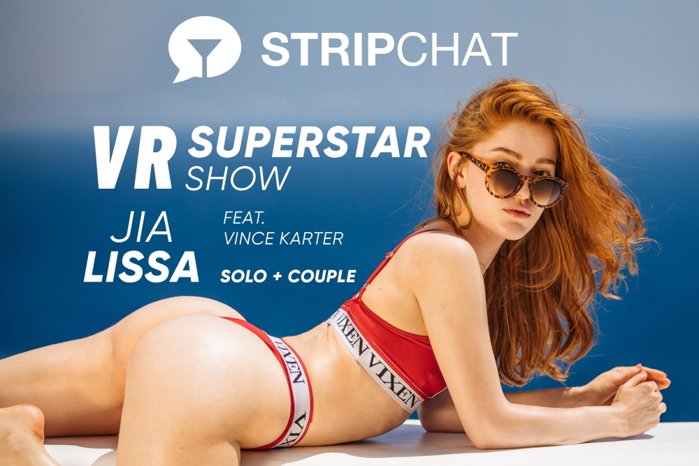Stripchat Hosting Live VR Cam Show With Superstar Jia Lissa